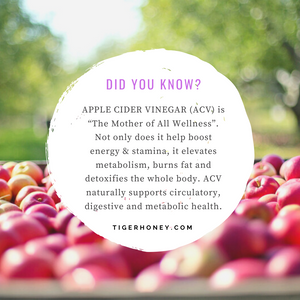 Tigerhoney Apple Cider Vinegar Health Tonic Benefits