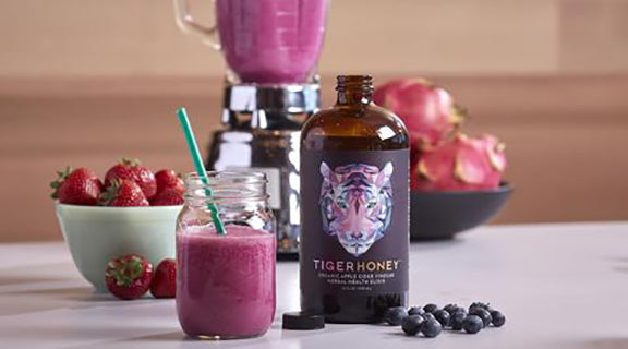 TigerBerry Superfood Smoothie