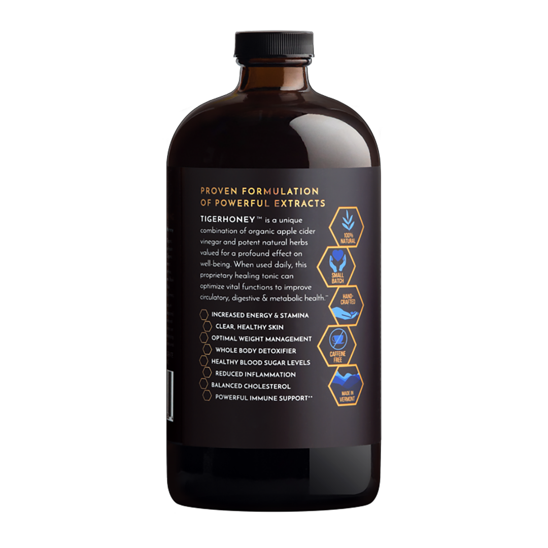 TIGERHONEY Wellness Tonic (2-Month Supply)