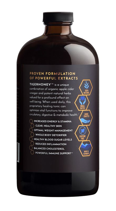 TIGERHONEY Wellness Tonic (4-Month Supply)