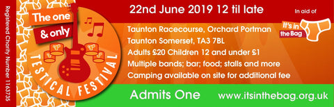 The (one and only) Testical Festival - Saturday 22nd June 2019 CHILD