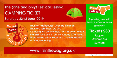 The (one and only) Testical Festival CAMPING TICKET 2019