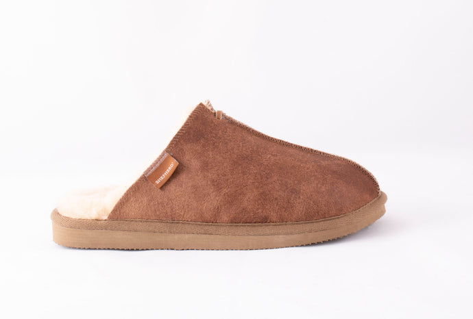 Shepherd of Sweden Hugo Slipper - Antique Cognac