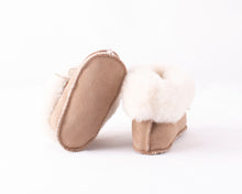 Load image into Gallery viewer, Shepherd of Sweden Gavle Baby Slipper - Bronce