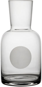 Glass Water Carafe & Glass 'Point'