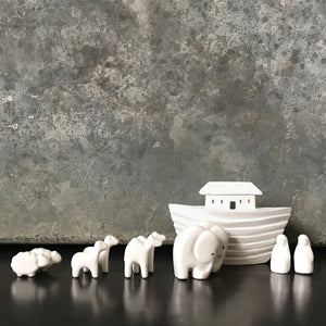 Porcelain Noah's Ark Set