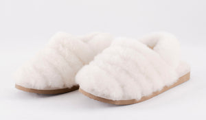Shepherd of Sweden Nellie Slipper - Creme