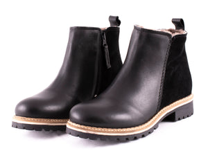 Shepherd of Sweden Ellinor Leather Boots - Black