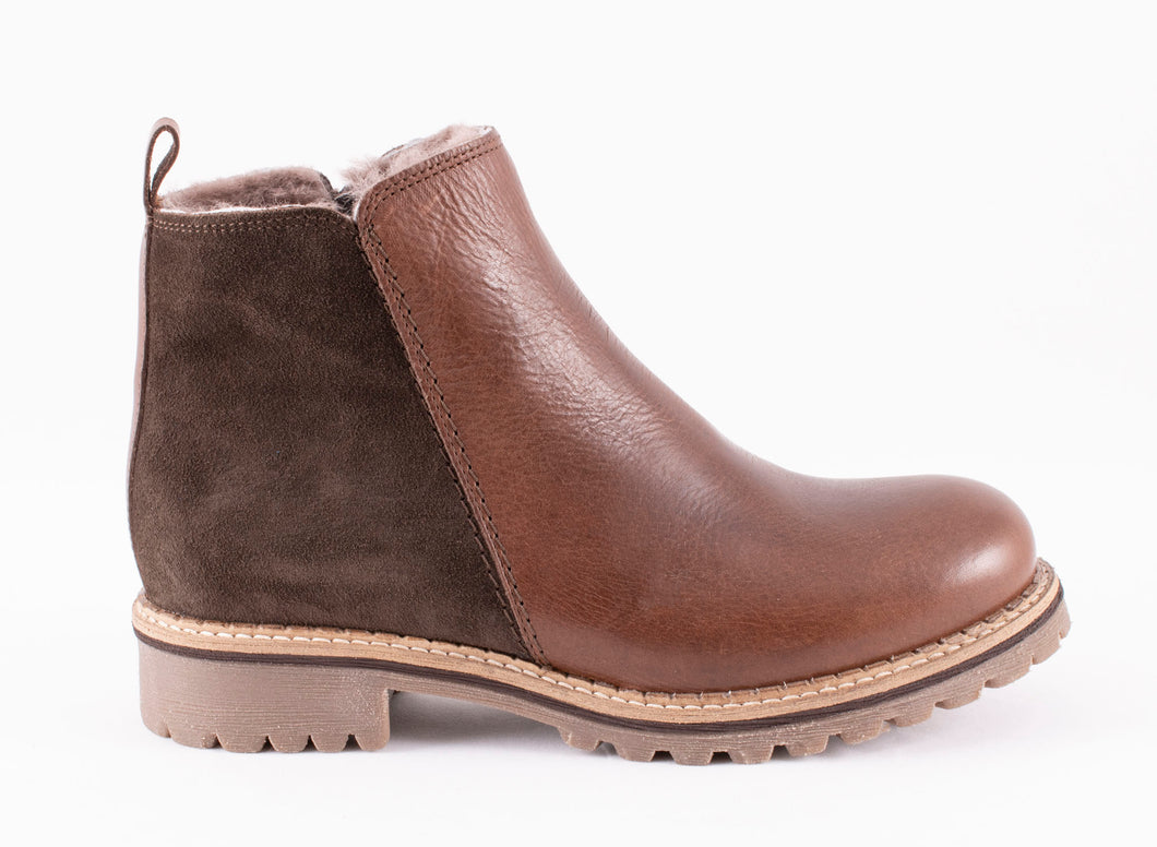 Shepherd of Sweden Ellinor Leather Boots - Brown