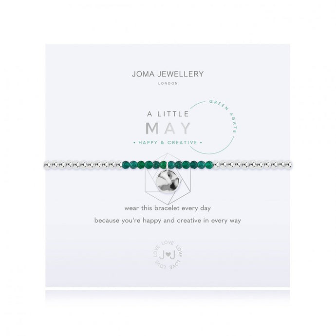 A Little Birthstone Bracelet - May
