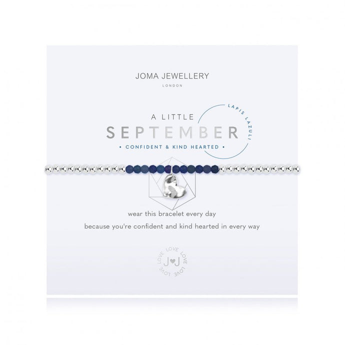 A Little Birthstone Bracelet - September