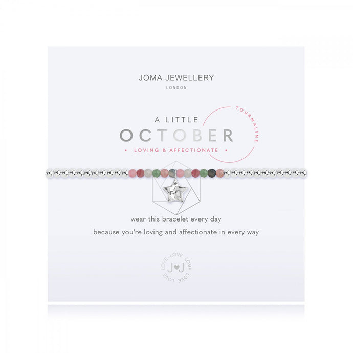A Little Birthstone Bracelet - October