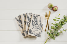 Load image into Gallery viewer, 4 Stag Linen Napkins
