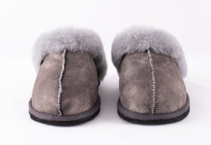 Shepherd of Sweden Jessica Slipper - Antique Grey