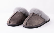 Load image into Gallery viewer, Shepherd of Sweden Jessica Slipper - Antique Grey