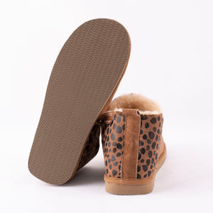 Shepherd of Sweden Annie Slipper - Leopard Chestnut