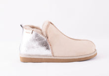 Load image into Gallery viewer, Shepherd of Sweden Annie Slipper - Honey & Silver