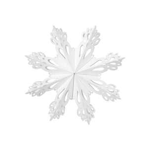 Large White Paper Snowflake Decoration