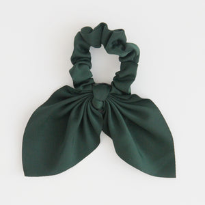 Dark Green Hair Scrunchie