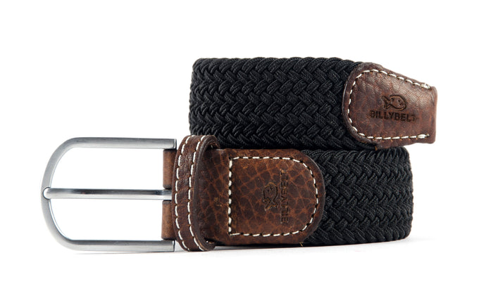 Woven Belt In Black Licorice