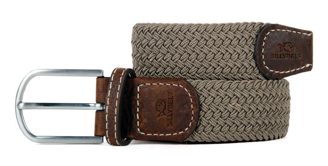 Woven Belt Taupe Beige
