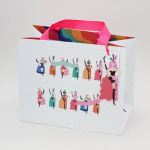 Tote Gift Bag - Happy Days