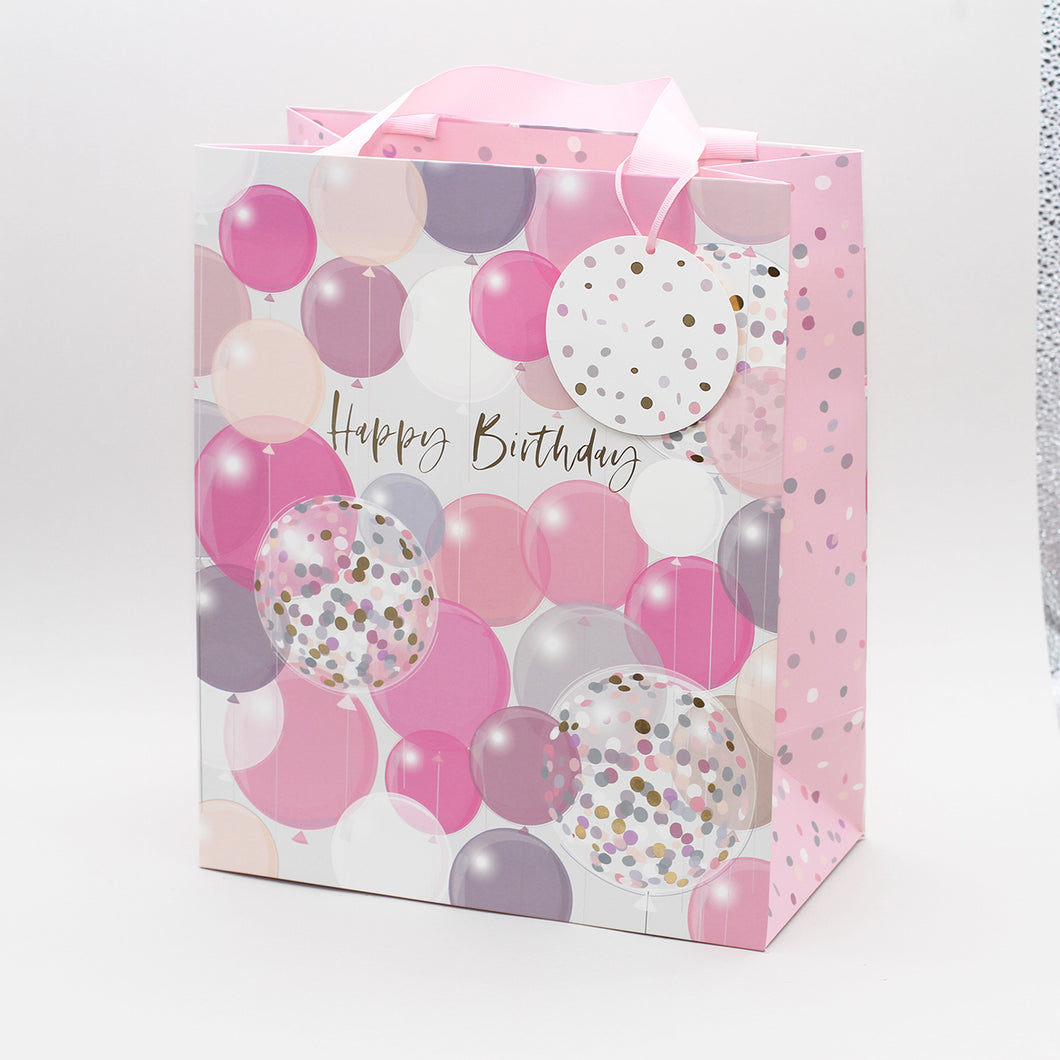Portrait Gift Bag - Balloons