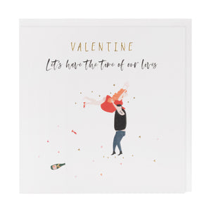 Time of Our Lives Valentine's Day Card