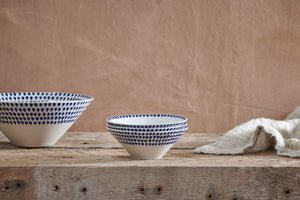 Indigo Drop Dipping Bowl