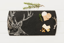 Load image into Gallery viewer, Stag Slate Large Serving Tray