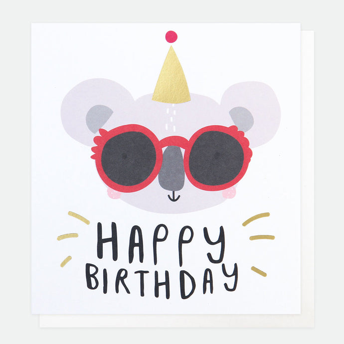 Happy Birthday Koala Card