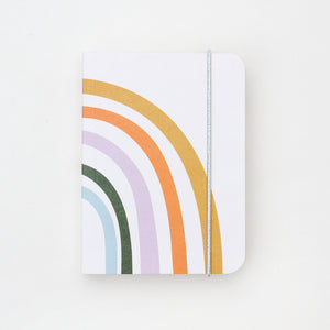 Rainbow Small Jotter  Notebook