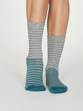 Load image into Gallery viewer, Isabel Bamboo Stripe Socks