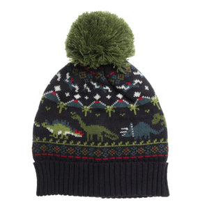 Dinosaur Knitted Kids Hat (Age 3-6 Years)