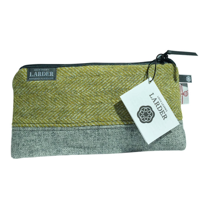 Large Harris Tweed® Cosmetic bag, two colours