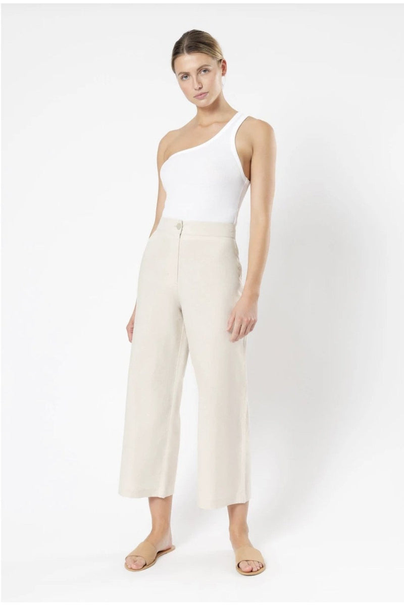 Drew Linen Pant - Folly + Jane