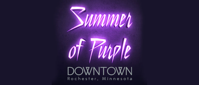 Summer of Purple - Rochester, Minnesota offer at Peacock Books & Wildlife Art for our title, Purple-plexed.