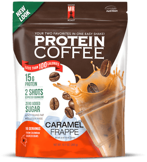 Maine Roast Protein Coffee [Caramel Frappé]