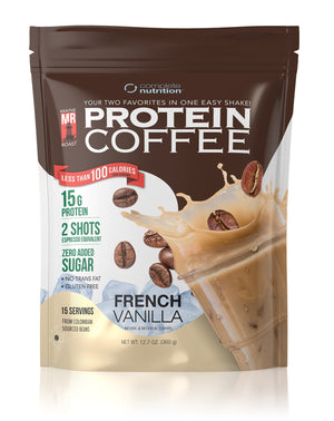 Maine Roast Protein Coffee [French Vanilla]