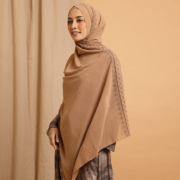 Purushawl Tan Rose