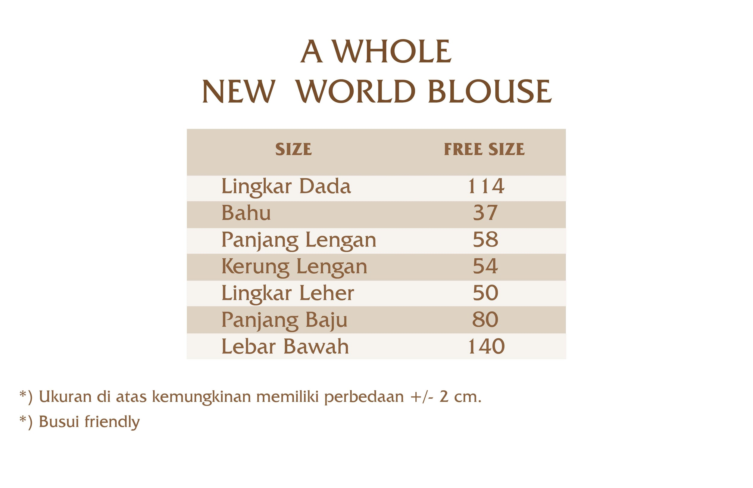 A Whole New World Blouse