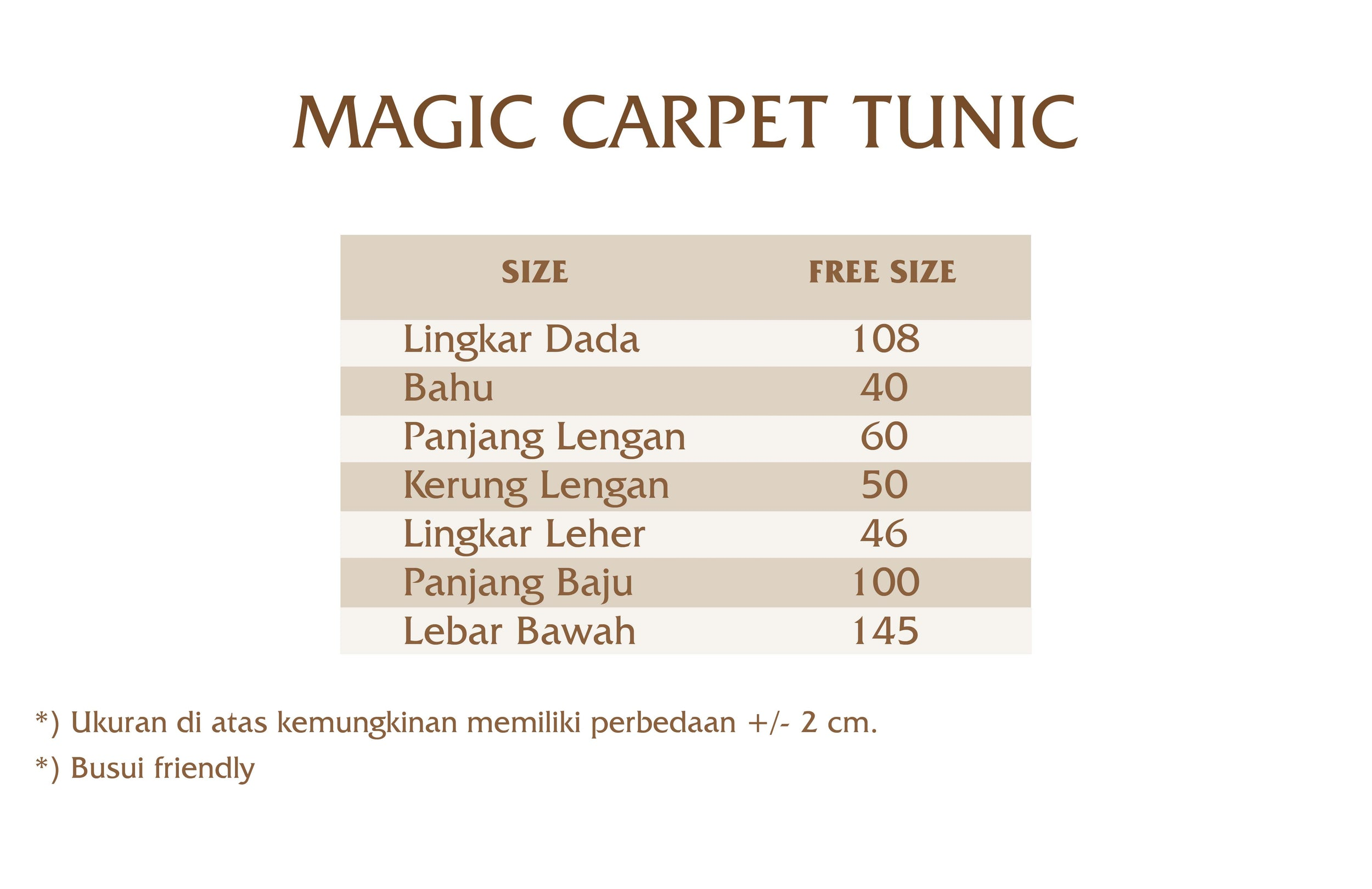 Magic Carpet Tunic
