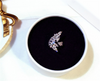 Cubic Zirconia Beaded Wings Adjustment Rings