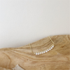 Minimalist Pearl Beaded Necklace