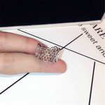 Lace Minimalist Hollow Out Ring