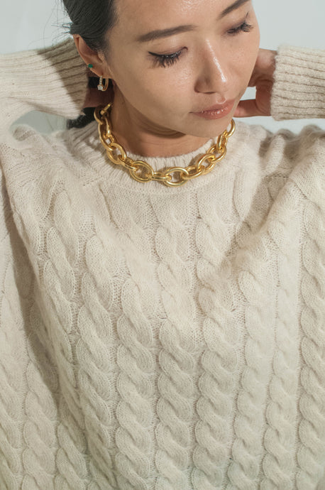 [Selected by MC] MONDAY SWEATER - IVORY