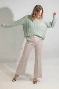 [Selected by MC] MONDAY SWEATER - MINT