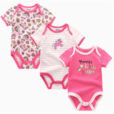 3 pcs Set Baby Bodysuit