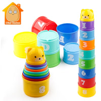 Folding Stackable Cup Toys