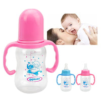 Baby Bottle With Handle 125 ml Nipple, Sippy Cup